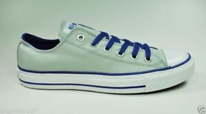 Converse-All-Star-Chuck-Taylor-Low-Top-Light-Gray-Shoes-Men-size-Canvas-Sneakers