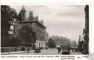 London-Postcard-Old-Lewisham-High-Street-amp-Old-Fire-Station-V273