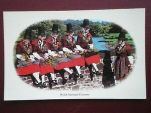 POSTCARD-SOCIAL-HISTORY-WELSH-NATIONAL-COSTUME