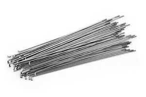 SILVER 14G Stainless Steel CHOOSE YOUR LENGTH Bicycle Spokes /& Nipples
