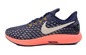 Nike-Air-Zoom-Pegasus-35-Running-Shoes-Navy-Coral-942855-402-Women-Size-9-5