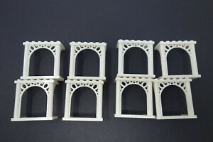 Lego-spares-white-ornamented-arch-3-x-6-x-5-30613-pack-of-8-wedding-arch