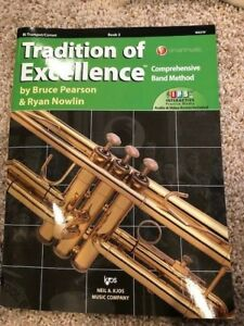 W63tp-tradition D'excellence Book 3-trompette/cornet Par Pearson Mowlin-afficher Le Titre D'origine