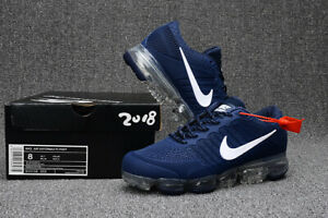 official photos 4064b dd484 Details about NIKE VaporMax Air Max 2018 men's running shoes Deep blue