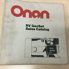 Onan Rv Generators Sales Brochures Installation Manual Guide Lg 3 Ring Binder
