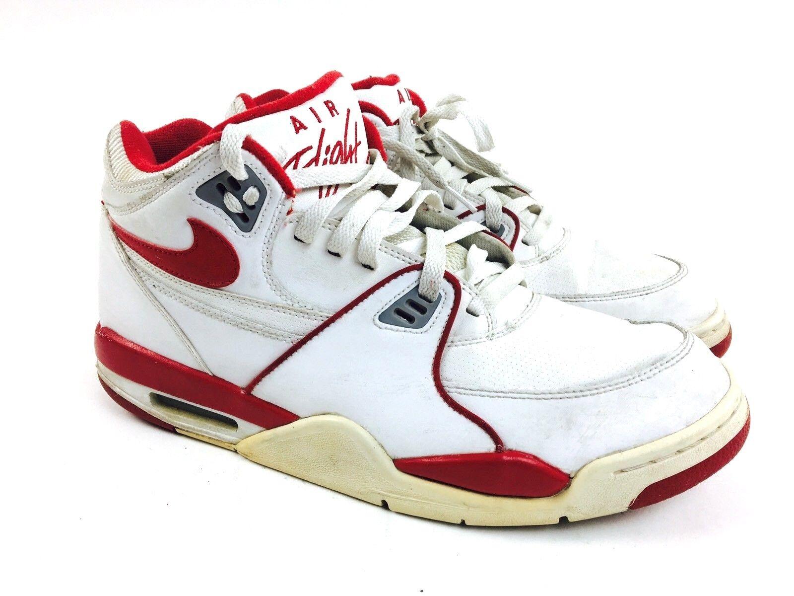 Nike Air Flight Shoes Men's Athletic Shoes White Nike Air Flight Sneakers 11