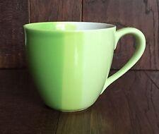 2005 STARBUCKS LIME GREEN SHADES TONES OMBRE STRIPED COFFEE TEA MUG CUP 12OZ