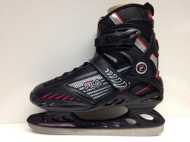 FILA Primo Ice Blk Red Ice Skating Ice Skating Softboot  size 42 Ice S   online at best price