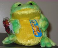Ty 2.0 Beanie Baby Jumps The Bull Frog -mint With Mint Tags Stuffed Animal Toy