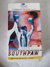 SOUTH PAW, DOCUMENTARY OF FRANCIS BARRETT, VHS  2000