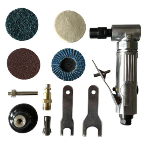 """1//4/"""" Air Angle Die Grinder Pneumatic Grinding Machine Cut Off Polisher Mill Tool"""