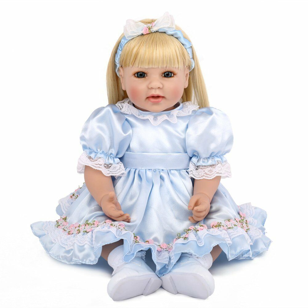 20  likelife Muñeca Reborn Bebé niñas niño recién nacido Juguete Niños Regalo De Vinilo De Silicona