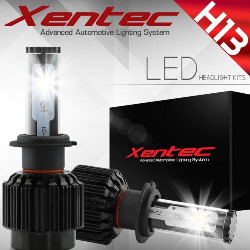 XENTEC LED HID Headlight kit 488W 48800LM H13 9008 6000K for 2010-2012 Ram 1500