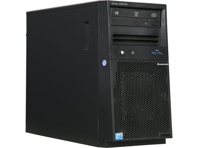 Lenovo System x3100 M5 5457ECU 4U Intel Xeon E3-1220 v3 3.10 GHz 8GB RAM 1TB HDD