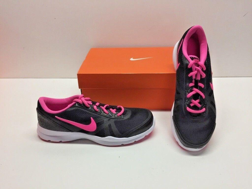 Nike Core Motion TR 2 Black Mesh Running Training Sneakers Shoes Womens 7.5