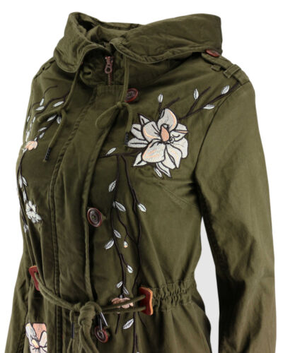 Parka manteau Khujo de broderie court Transition Ladies Jacket broderie Kenya gYtHYp