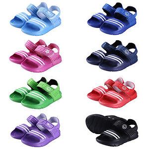Kids-Boys-Girls-Summer-Beach-Flat-Casual-Sandals-Children-Shoes-Size-8-5-12