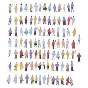 Nuovi-100pz-verniciate-di-treno-modello-persone-figure-Scala-N-da-1-a-150-O0F0