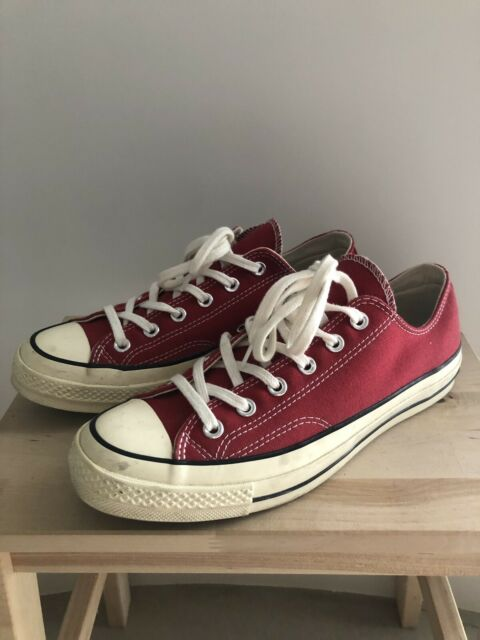 Converse Chuck Taylor All Star 70's Shoes Trainers UK 8 Red