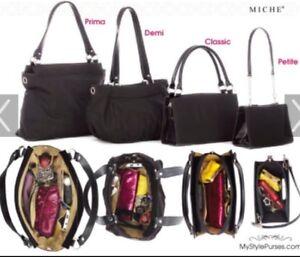 Authentic-Miche-Prima-BASE-Hand-Bag-NEW-Sealed-Unopened-Black-Rare-Retired