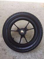 Baby Jogger City Select Stroller Rear Wheel Black Parts 12 1/2 Pram Replacme