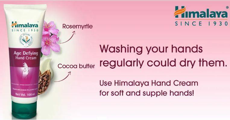HIMALAYA HERBALS AGE DEFYING HAND CREAM 100 ML