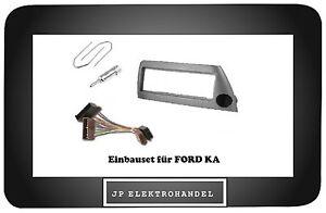 Kit-cadre-de-montage-Adaptateur-entriegelungsb-ugel-pour-FORD-KA-Argent