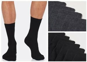 10 er Pack Herren Business Anzug Socken Strümpfe aus 50