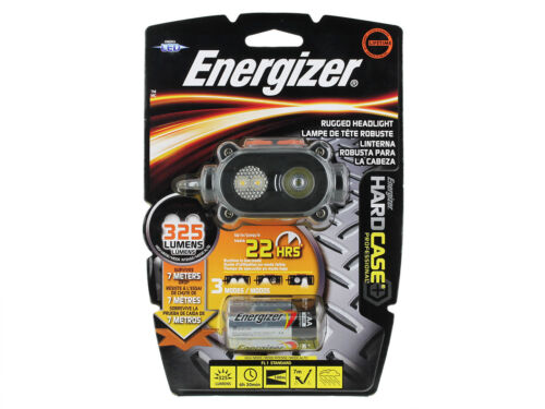 piles incluses Energizer Hard Case Pro Rugged 3-DEL phare 325 Lumens