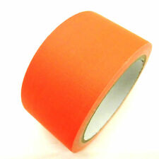 Neon Gewebe Klebeband UV-aktiv 50mm x 10m Gaffa Orange Panzertape Duct Tape
