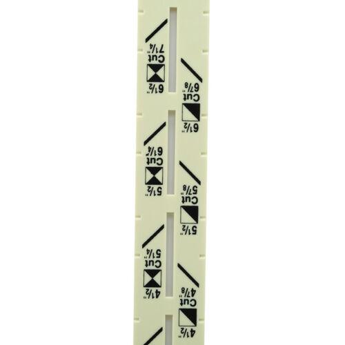 1 en 5-coulissante Jauge De Mesure Couture Outils avec échelle de couture outil de mesure S