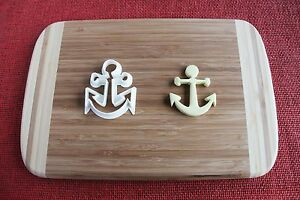 Anchor Cookie Cutter Biscuit Stamp Cake Topper Fondant cutter cupcake topper
