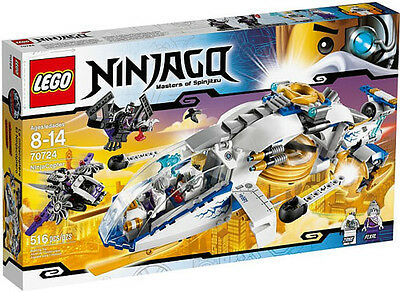 LEGO Ninjago 70724  NinjaCopter Toy Set New In Box Sealed #70724