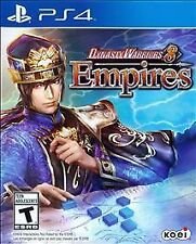 PS4 Dynasty Warriors 8 Empires NEW Sealed Region Free USA Video game