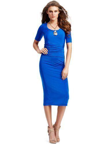 NWT GUESS by marciano blueE blueE blueE DRESS SIZE XS e310b0