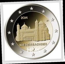 2 EURO  ***  Allemagne 2014  Duitsland  ***  Michaeliskirche Niedersachsen !!!