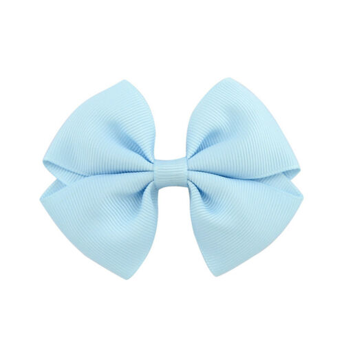 10//20Pc Girl Baby Kids Hairpin Bow Boutique Hair Clip Alligator Grosgrain Ribbon
