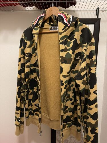 100% Authentic BAPE 1st Camo Shark Full Zip Hoodie