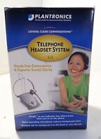 Plantronics S12 Noise-canceling Telephone Headset System With Firefly Indicator
