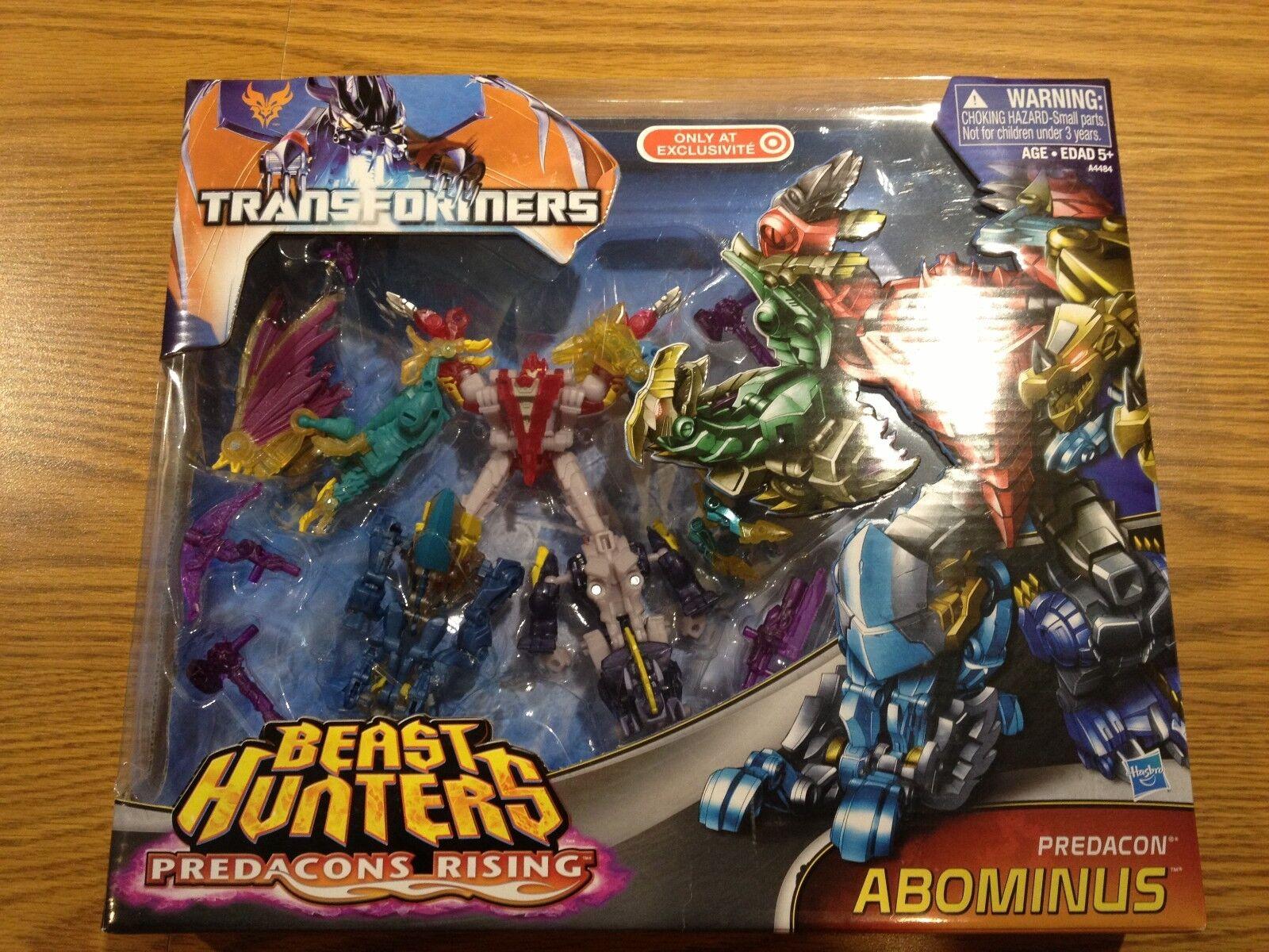 Transformers ABOMINUS Predacons Rising (Target Beast Hunters, Hasbro)  NEW