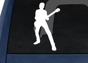 Musician-Band-Rockstar-Guitarist-Silhouette-Shadow-V-3-Car-Tablet-Vinyl-Decal