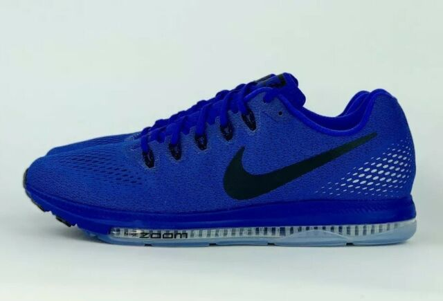 premium selection 5b59b f183d Nike Zoom All Out Low Running Shoes Paramount Blue Black 878670-400 Sz 8