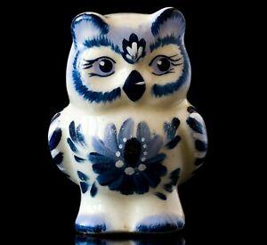 Porcelain-owl-statue-Russian-gzhel-art-miniature-blue-white-bird-monebox