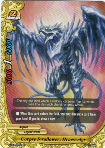 Buddyfight English BT04//0050EN Corpse Swallower Hraesvelgr U Non-foil