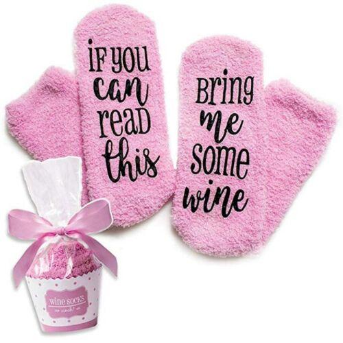 Long Thicken Fleece Lined Socks Women Winter Soft Warm Cozy Fuzzy Xmas Slipper