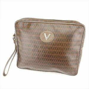 7e08e1483f Image is loading MARIO-VALENTINO-clutch-bag-V-motif-Ladies-mens-