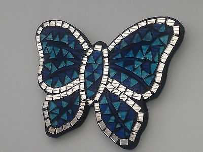 Mirror Mosaic Butterfly 23cm aAssorted Colours. A Perfect Gift!