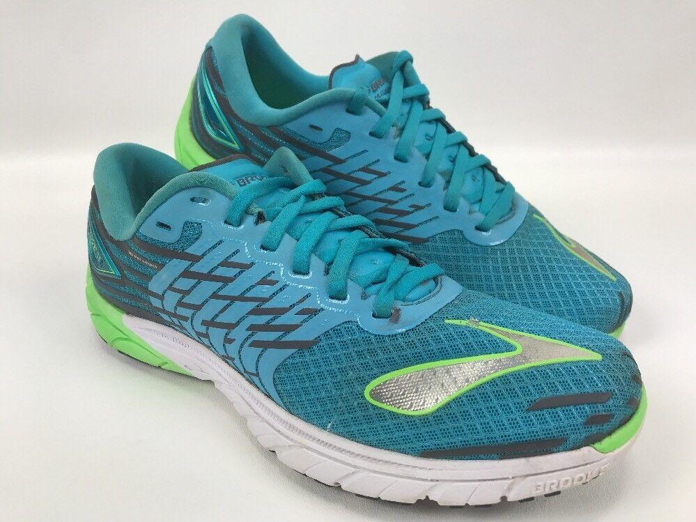 Brooks Pure Cadence 5 Running Womens Size 10 B Running 5 Training Shoes Sneaker Aquamarine 30dc2c