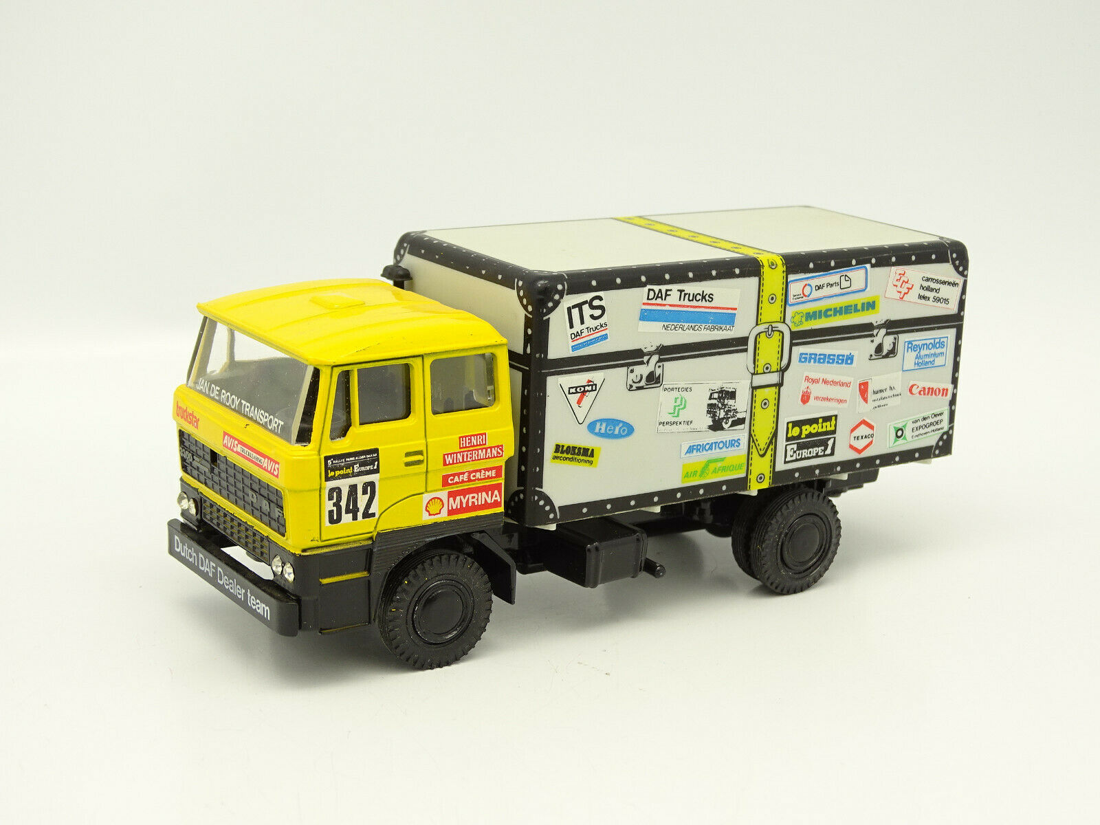 Lion car 1 50 daf - 3300 turbo rallye paris dakar 1983 nº 342