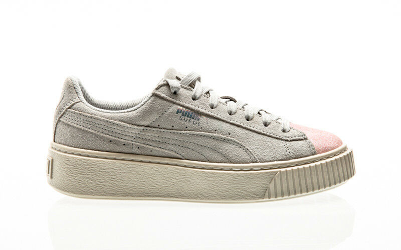 Puma Suede Platform Jewel Junior Jr SNK Junior Jewel Sneaker Schuhe Damens Youth f0c2bb